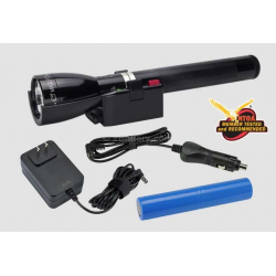Maglite ML150LR LED Rechargeable Flashlight System, ML150LR-1019, 185-047, Classic Black
