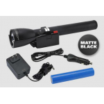 Maglite ML150LRX LED Rechargeable Flashlight System - Matte Black