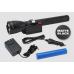 Maglite ML150LRX LED Rechargeable Flashlight System, ML150LRX-1019, 185-090, Matte Black