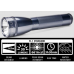 Maglite ML25IT Xenon 2C Cell Maglite Flashlight, ML25IT-2096, 186-048, Gray