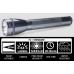 Maglite ML25IT Xenon 3C Flashlight, ML25IT-3096, Gray