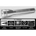 Maglite ML25IT Xenon 3C Cell Maglite Flashlight, ML25IT-3106, 186-079, Silver