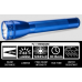 Maglite ML25IT Xenon 3C Cell Maglite Flashlight, ML25IT-3116, 186-080, Blue