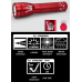 Maglite ML25LT 2C Cell LED Flashlight, ML25LT-S2SP6, Collectible Statue of Liberty, Red
