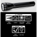 Maglite ML25LT 3C Cell Maglite LED Flashlight, ML25LT-S3016, 188-071, Black