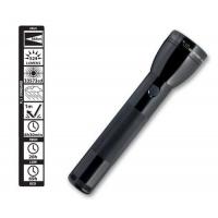 Maglite 3rd Generation 2 Cell D LED Flashlight ML300L-S2016, Black, 150-039