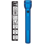 Maglite 3rd Generation 3 Cell D LED Flashlight ML300L-S3116, Blue, 150-077