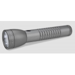Maglite 3rd Generation 2 Cell D LED Flashlight, Urban Gray Matte Tactical Design