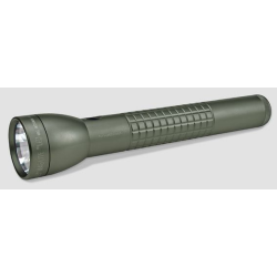 Maglite 3rd Generation 3D Cell LED Flashlight, Foliage Green Matte Knurled Tactical Design