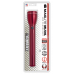 Maglite ML50L 3C Cell LED Flashlight, ML50L-S3036, 181-067, Red