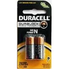 Duracell Coppertop N Cell 1.5V Alkaline MN9100 (LR1), 2 per pack