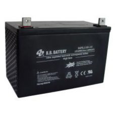 BB Battery, MPL110-12HB3, 12V 108Ah Sealed Lead Acid Battery With Handle