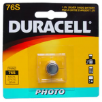 Duracell MS76 1.5 Volt, Silver Oxide Coin Cell Battery, MS76BPK