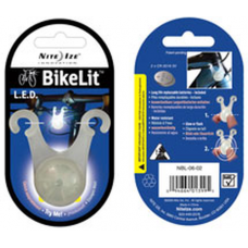 Nite Ize BikeLit, Bicycle Safety Light - White, NBL-06-02