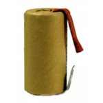 2200mAh NiCad 1.2V Sub C Insulated Battery W/ Tabs, NCD2200SCT-P