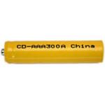 AAA Rechargeable 1.2V NiCad Battery, NCD300AAA