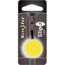 Nite Ize ClipLit LED Light Designs, Yellow Sun NCLS02-03-16SU