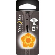 Nite Ize ClipLit Designs, Orange Wildflower LED Light, NCLS02-03-19FL