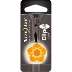 Nite Ize ClipLit Designs, Orange Wildflower LED Light, NCLS02-03-19FL