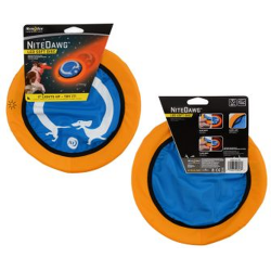 Nite Ize Nite Dawg LED Soft Disc, Blue Dachshund Design