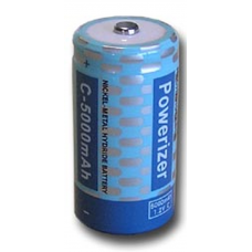 NiMH Rechargeable C Cell 5000mAh 1.2V Battery, NMH5000