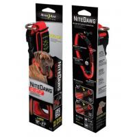 Nite Ize Nite-Dawg Red LED Dog Collar, LARGE NND-03-10L