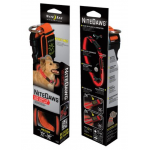 Nite Ize Nite Dawg Red LED Light Dog Collar, ORANGE Medium NND-03-19M