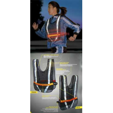Nite Ize LED Reflective Sports Vest, Improved, NRV2-08-10