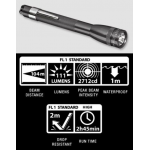 Maglite MiniMag 2 Cell AAA LED Flashlight P32092, 156-044, GRAY, Gift Box