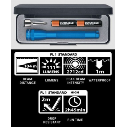 Maglite 2AAA MiniMag LED Gift Box, P32112, Blue