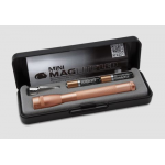 Maglite MiniMag 2 Cell AAA LED Flashlight P32SV2, 156-292, ROSE GOLD, Gift Box