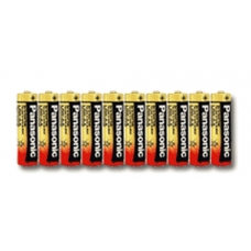 Panasonic AA Industrial Alkaline Battery, Bulk Case of 500, PAN-AA-BULK-500