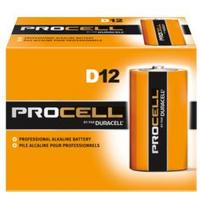 Duracell Procell D PC1300 Alkaline Battery, 72/Case