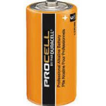Duracell Procell C PC1400 Alkaline Battery, 72/Case
