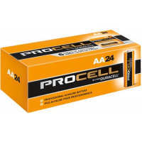 Duracell Procell AA PC1500 Alkaline Battery, 24/Carton