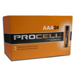 Duracell Procell AAA PC2400 Alkaline Battery, 24/Carton, PC2400-24