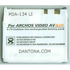 Archos 300360 3.7V 2000mAh Li-Ion PDA/MP3 Battery, PDA-134LI