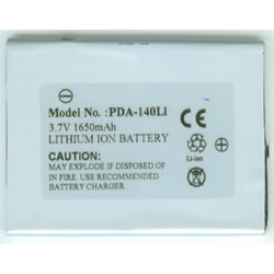 GMINI 120 3.7V 1650mAh Li-Ion PDA/MP3 Battery, PDA-140LI