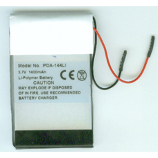 Tungsten TX 3.7v 1400mah Li-Poly PDA Battery, PDA-144LI