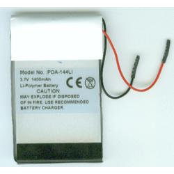 Tungsten TX 3.7v 1400mah Li-Poly PDA Battery, PDA-144LI