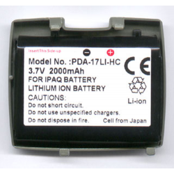Compaq 2100 3.7V 2000mAh Li-Ion PDA (or MP3) Battery, PDA-17LI-HC