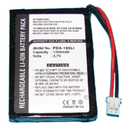 GlobalStat BT-308 3.7v 1350mAh Li-Ion GPS Replacement Battery