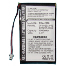Garmin Nuvi 600 GPS 3.7v 1500mAh LiPoly Replacement Battery