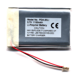 SONY CLIE PEG Series 3.7V 1200mAh Li-Polymer PDA (or MP3) Battery