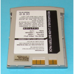 DELL 1X390 3.7V 1450mAh Li-Ion PDA (or MP3) Battery, PDA-27LI