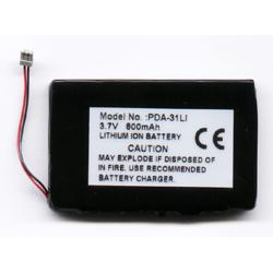 Sony Clie S300 3.7V 800mAh Li-Ion PDA (or MP3) Battery, PDA-31LI
