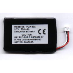 Apple iPod Slim 3.7V 600mAh LI-ION PDA (or MP3) Battery, PDA-33LI