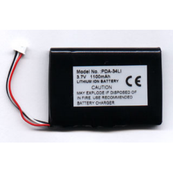 Acer S60 3.7V 950mAh Li-Ion PDA (or MP3) Battery, PDA-34LI
