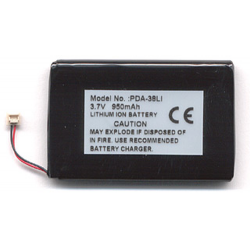 Palm Zire 31 3.7V 1000mAh Li-Polymer PDA (or MP3) Battery, PDA-38LI