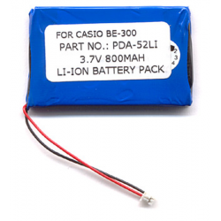 Casio BE-300 3.7V 850mAh Li-Ion PDA (or MP3) Battery, PDA-52LI